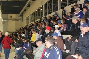 Jets fans at IcePlex